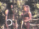 Xena and Gabrielle have a 'heart-to-heart'