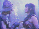 Joxer threatening Xena? ... he's dumber than I thought